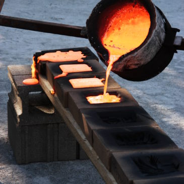 Spring Iron Pour