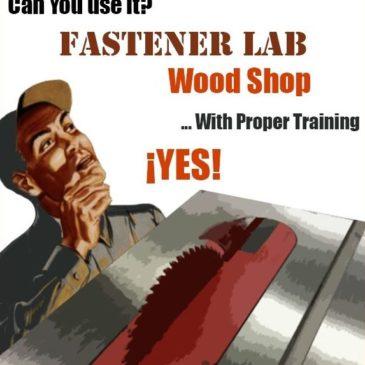 Wood Shop Training
