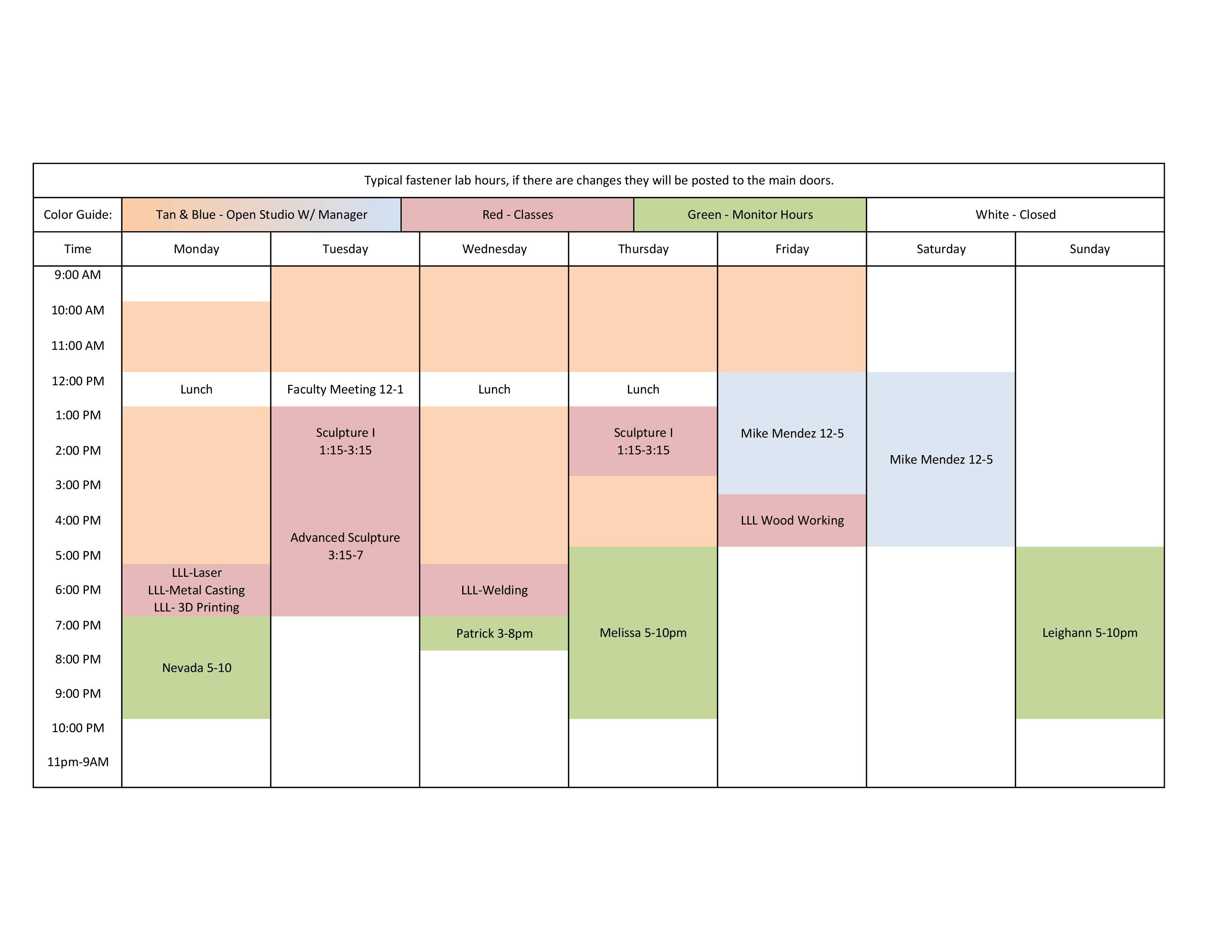 Fall_2018_schedule